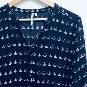 Grand & Green Anchor Blue / White Top Size L